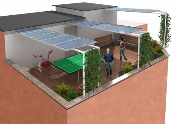 GRUPPO PROGENIA | progetti | Tettoie fotovoltaiche